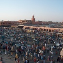 Djemaa el Fnaa, old town's city centre